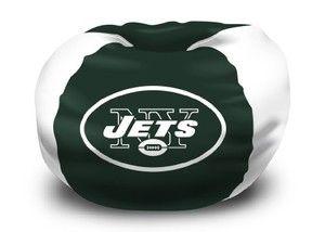 New York Jets Bean Bag Chair Nfl Football Fan Shop Sports Team Merchandise New York Jets Bean Bag Chair Cool Bean Bags