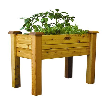 Found it at Wayfair Elevated Garden Bed with Treated Wood