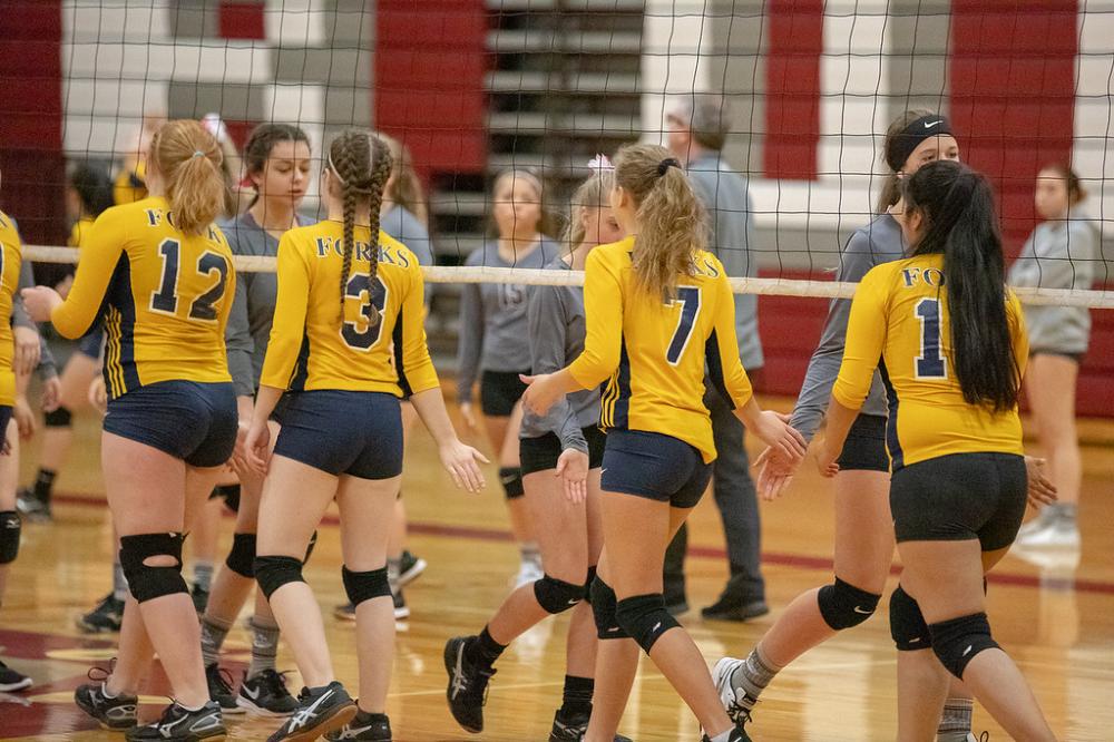Montesano Vs Forks Jv Volleyball October 23 2018