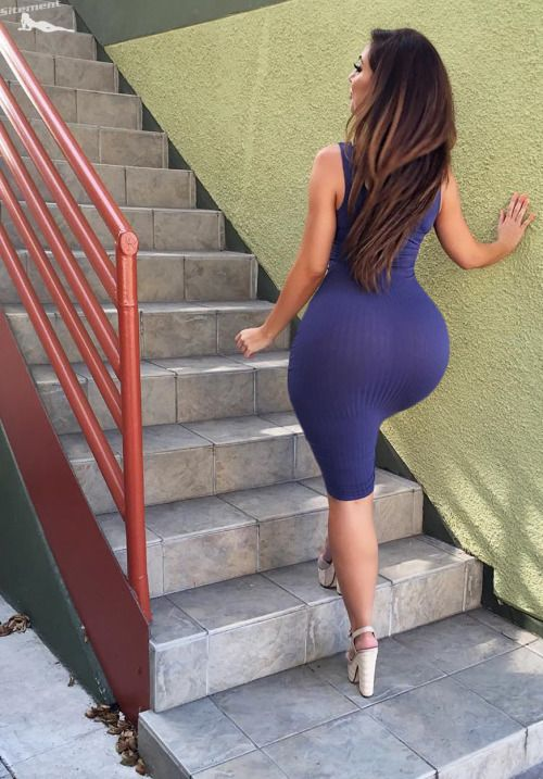 Pinterest big butt dress