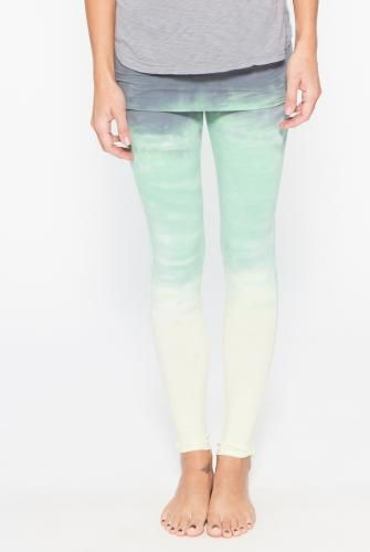 bd7501cf43 Omgirl Nomad Legging in Horizon- Tie-Dye Vineyard Green | when you ...