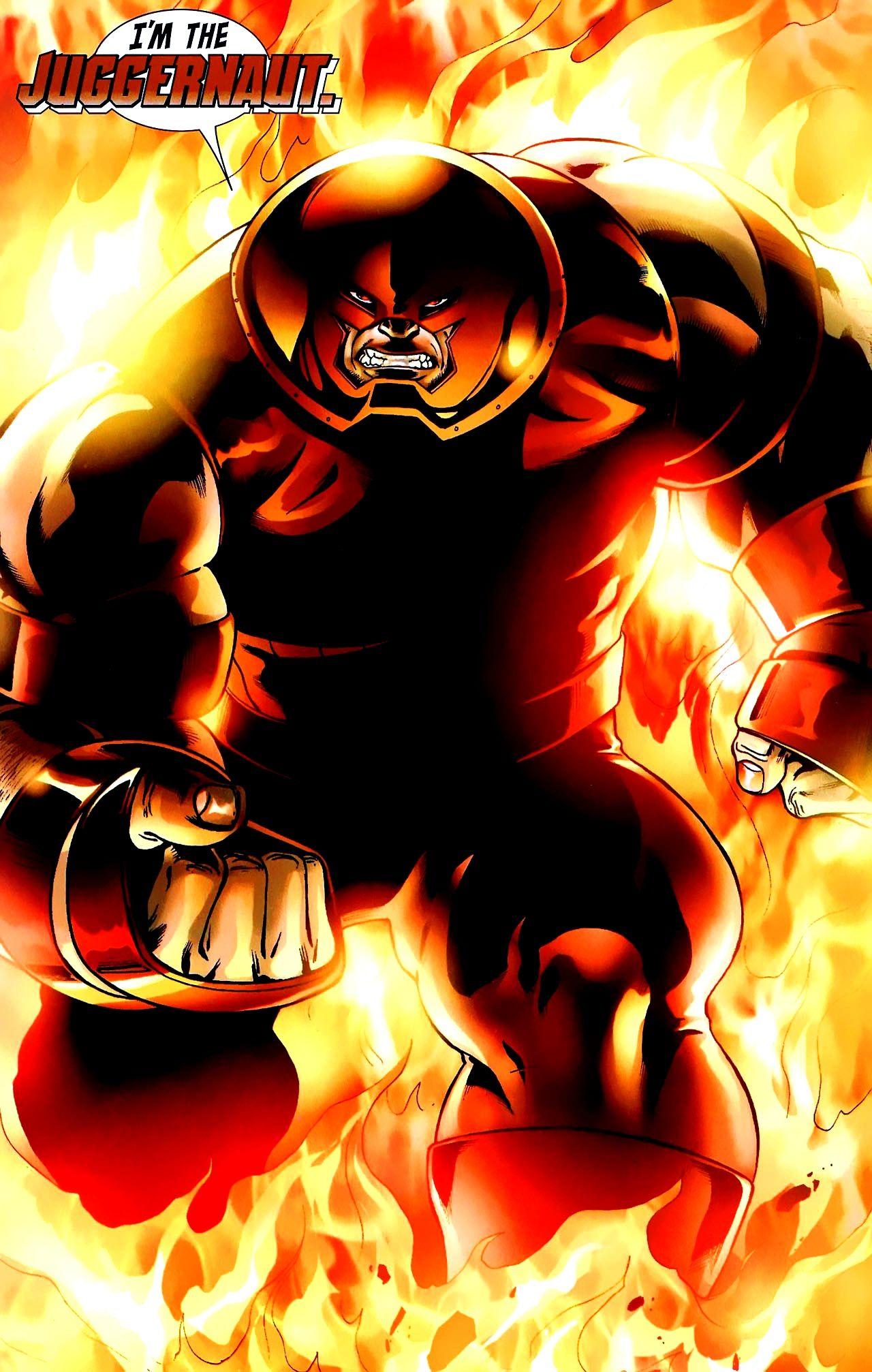 Juggernaut By Andrea Divito Comic Villains Juggernaut Marvel Superhero Comic