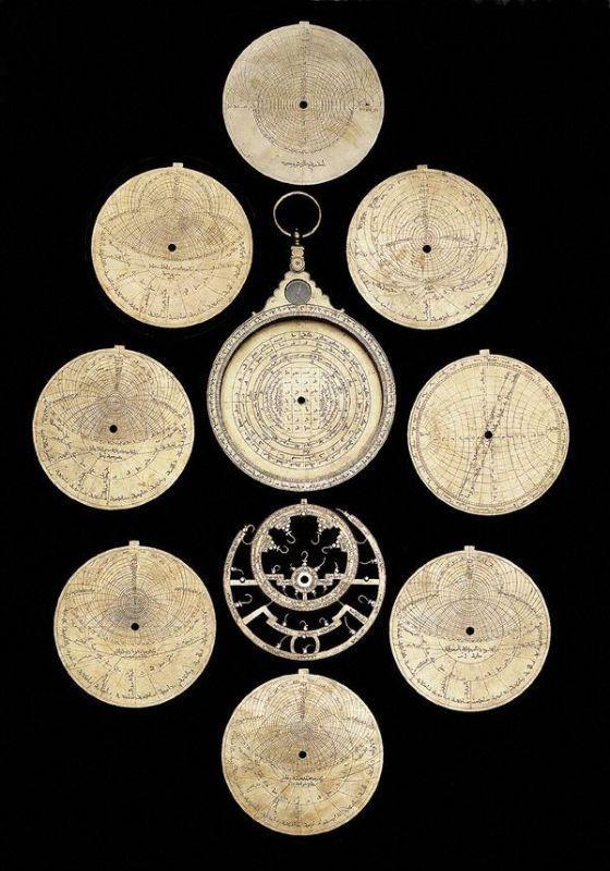 Astrolab Dismounted Ottoman 1738