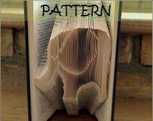 Book folding Pattern: ELEPHANT design (including instructions) – DIY gift – Papercraft Tutorial