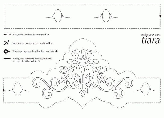 Free Printable Princess Crown Coloring Pages Princess Coloring