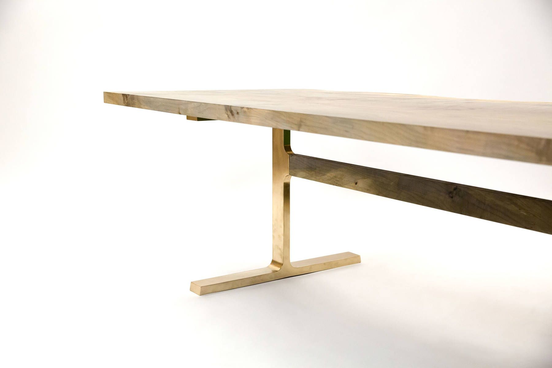 bronze shaker table - jeff martin joinery | pure - millwork