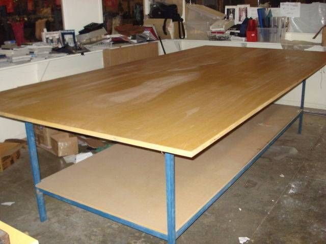 fabric cutting table ex fashion coDESIGNERS TABLE as new multi designer work station fashion designers pattern makers work table industrial ... 1140774629 & fabric cutting table ex fashion coDESIGNERS TABLE as new multi ...