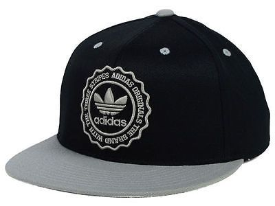 adidas-Originals-PHD-210-Flex-Fit-Cap-Hat-Black-Gray-6-7-8-7-1-4