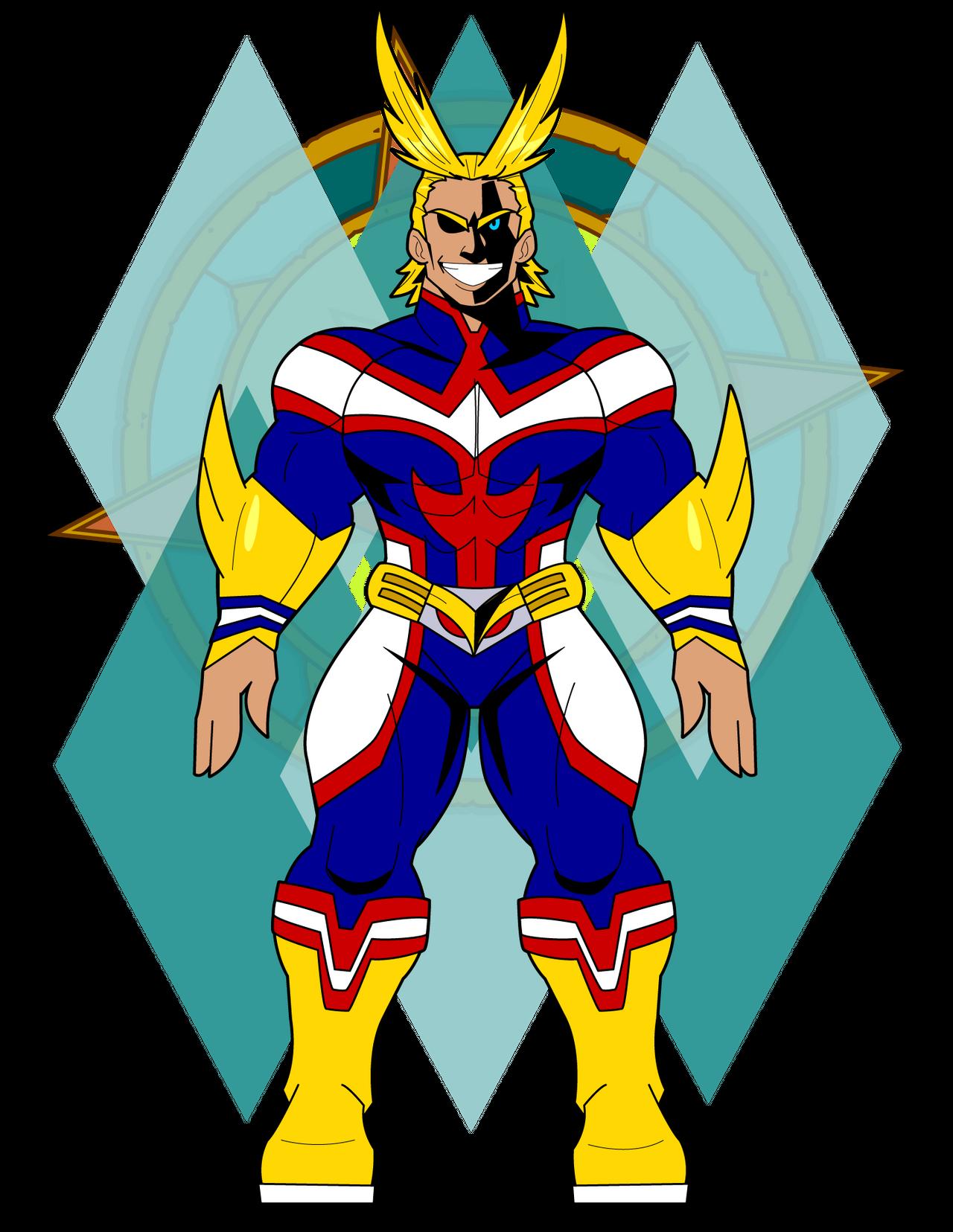 All Might Base By Dragon Fangx On Deviantart Artist Deviantart My Hero