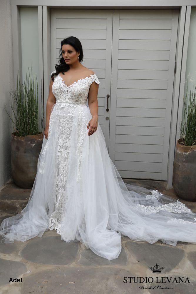Plus size wedding gowns 2018 Adel (2)   Wedding dresses   Pinterest ...