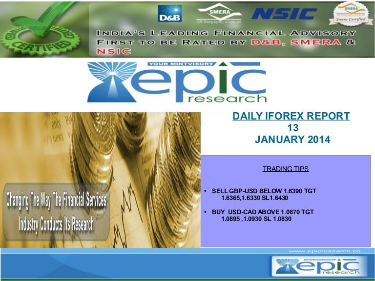 Epic Research Is A Leading Global Financial Services Provider