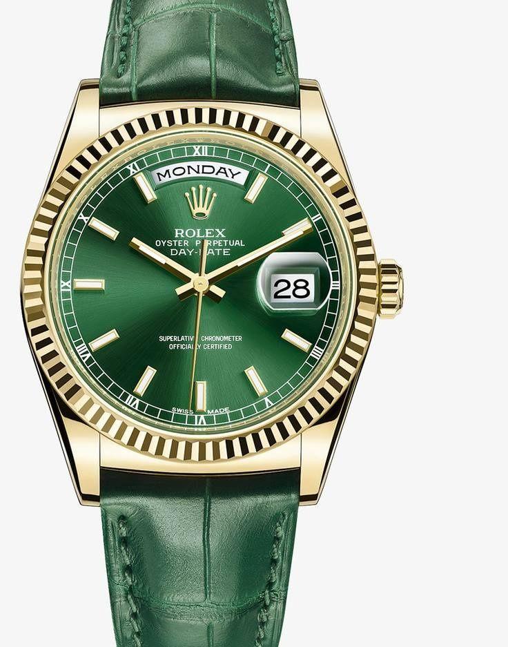 d5e299fe31 Emerald Green Wardrobe Wishes New Rolex