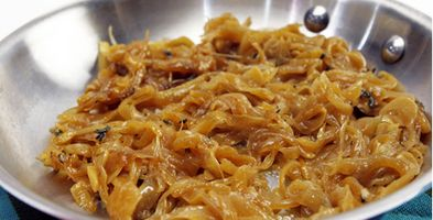Best Recipes Ever - Burger Topping Recipes: Caramelized Onions