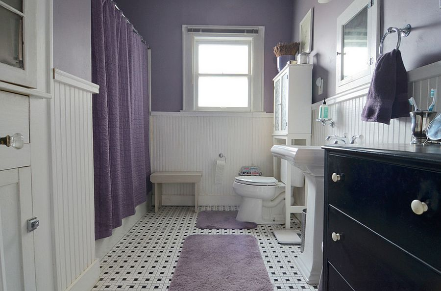 Delightful Gray And Purple Bathroom Ideas Part - 1: 23 Amazing Purple Bathroom Ideas, Photos, Inspirations