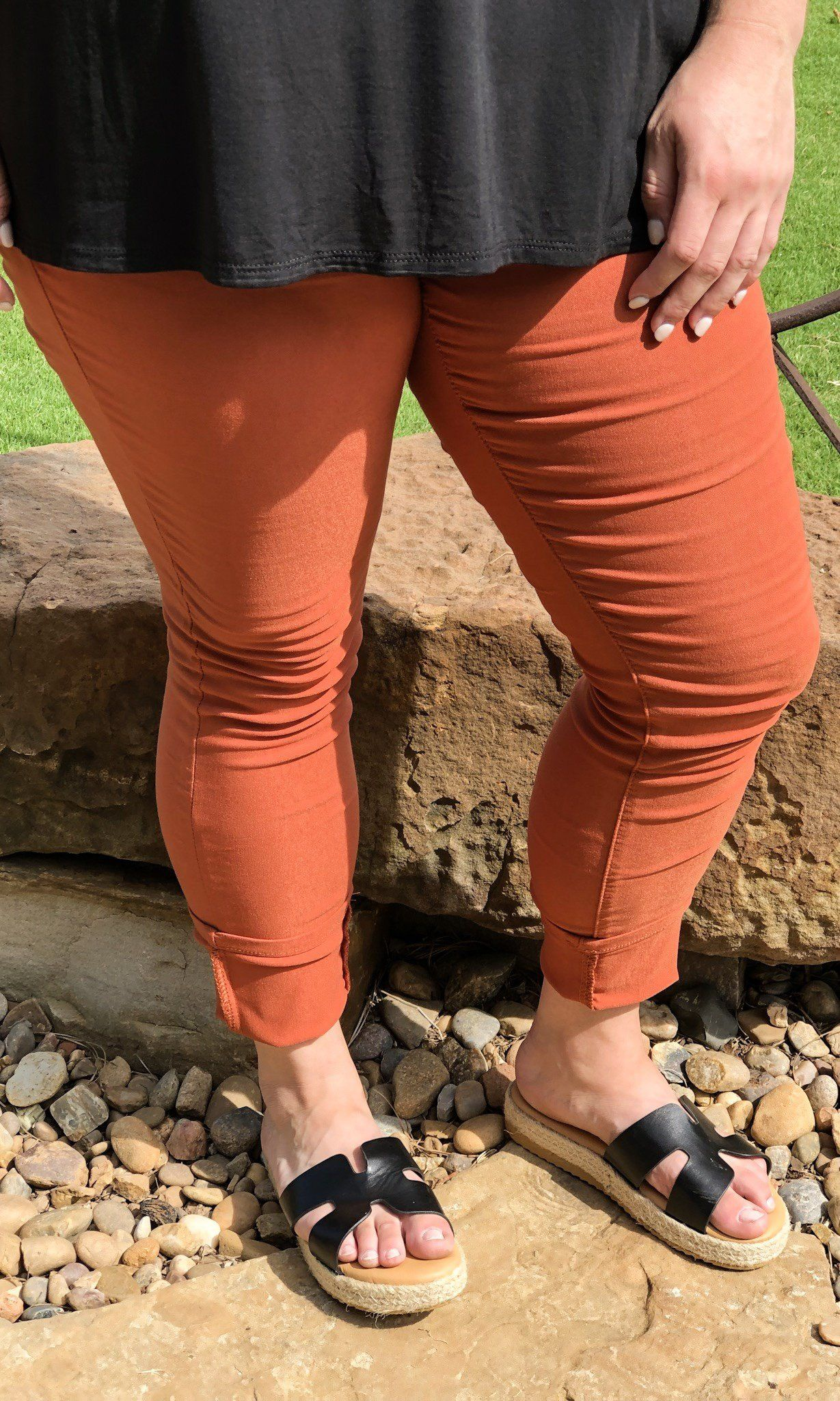 Just Awesome Jeggings Adobe l MidRise Hyper Stretch