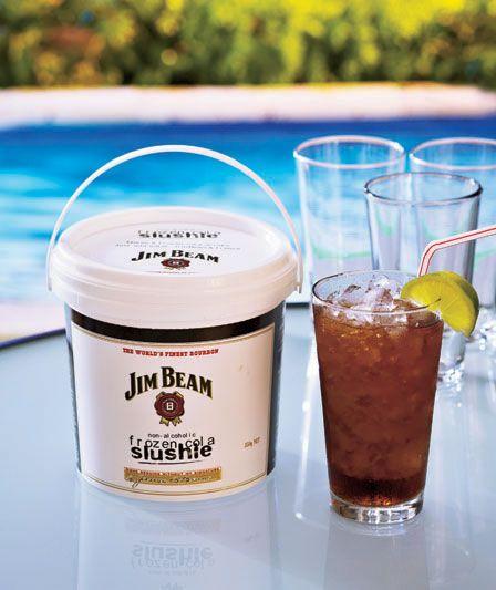 Jim Beam Frozen Cola Bucket Jim Beam Frozen Frozen Drinks