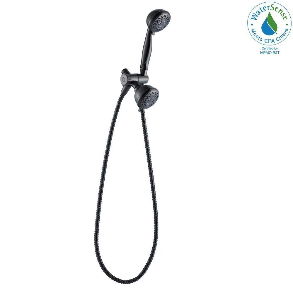 Glacier Bay 3 Spray Dual Showerhead And Handheld Showerhead Combo