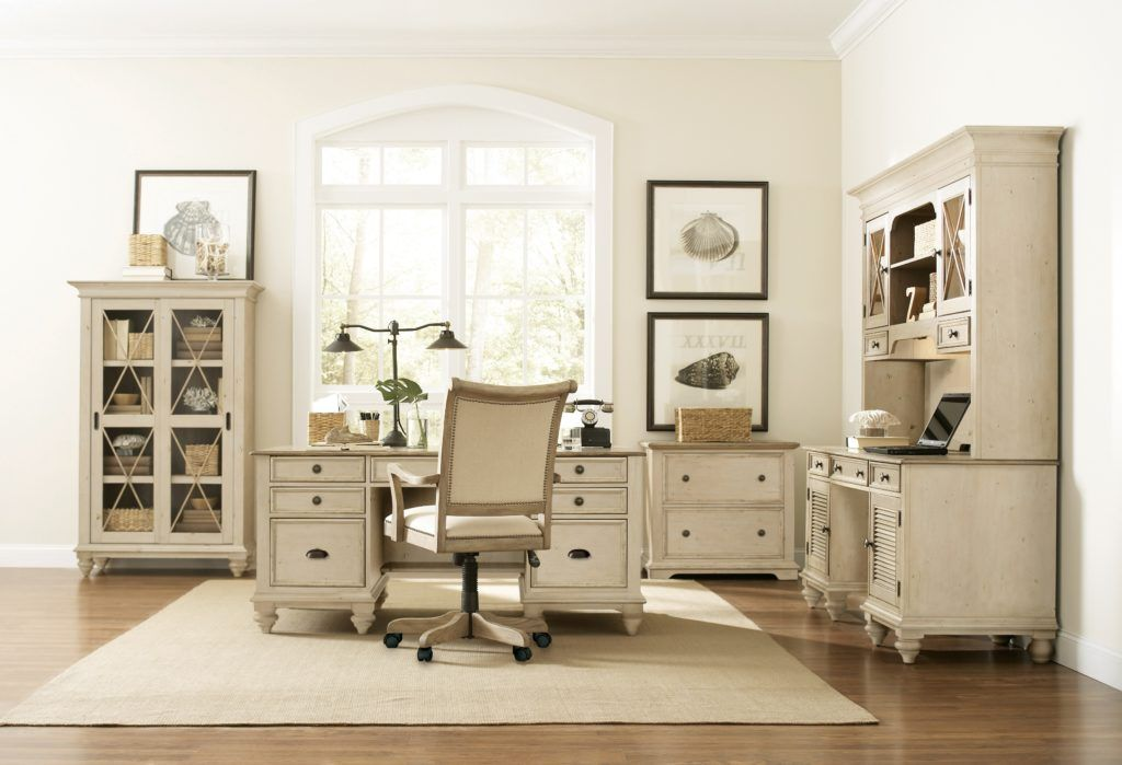 Catchy White Home Office Furniture Collections With White Home
