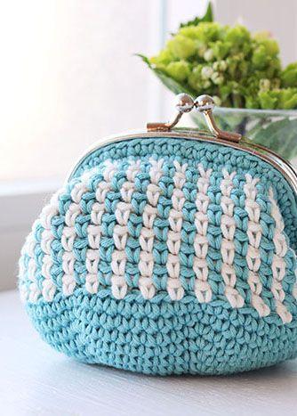 Monedero De Crochet Bolsos A Crochet Pinterest Monederos - Monederos-ganchillo