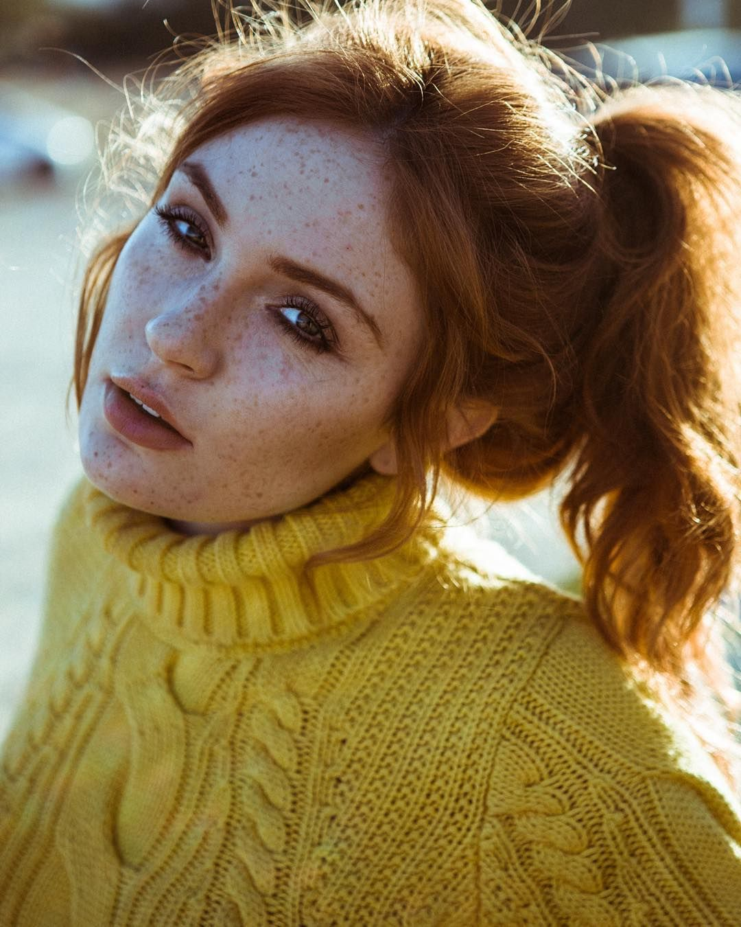 Freckle face photo by kennethjmitchellud woman crush wednesday