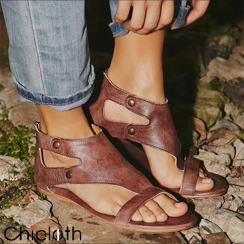 Details about  /Womens Fashion Summer Pearls Ankle Strap Sandals Thong Sandals Flats Beach Shoes