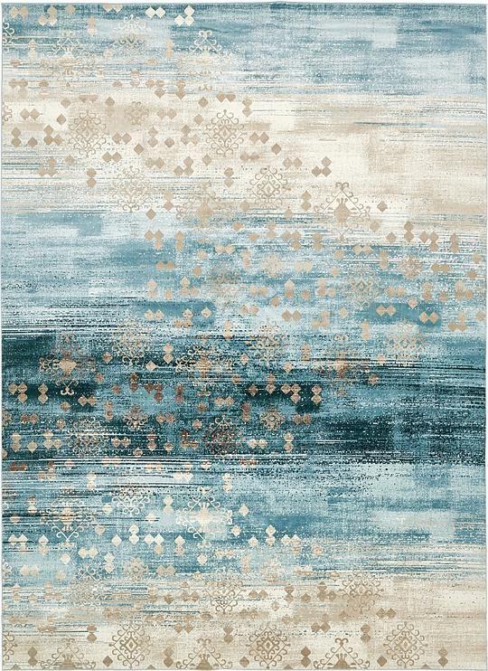 Dark Blue 10 2 X 13 5 Mirage Rug Area Rugs Carpets Area Rugs Rugs On Carpet Textured Carpet
