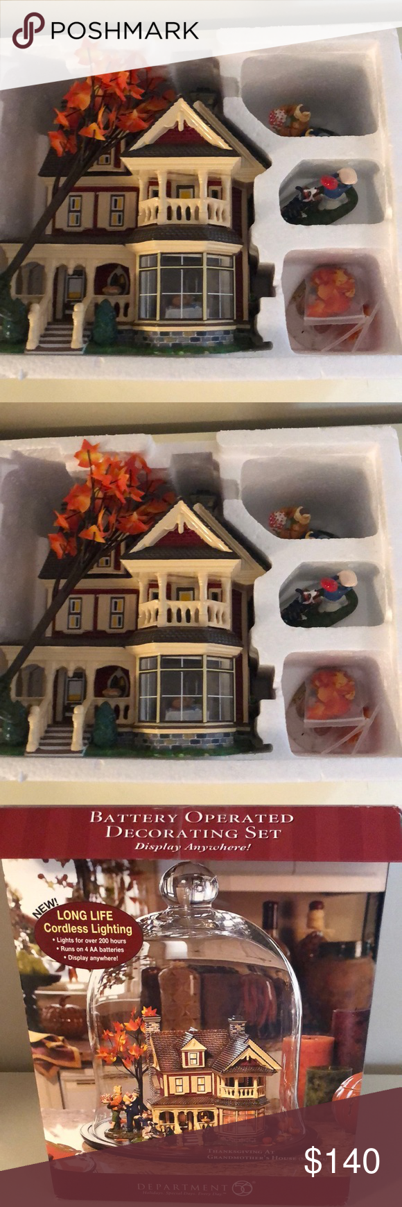 2004 Department 56 Thanksgiving at Grandmothers 2004 Department 56 Thanksgiving at Grandmothers Good Condition Everything Works Outer Box has a couple tears from storage Department 56 Holiday Holiday Decor #department56