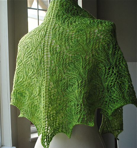 Ravelry $6 East Gable Shawl pattern by Judy Marples