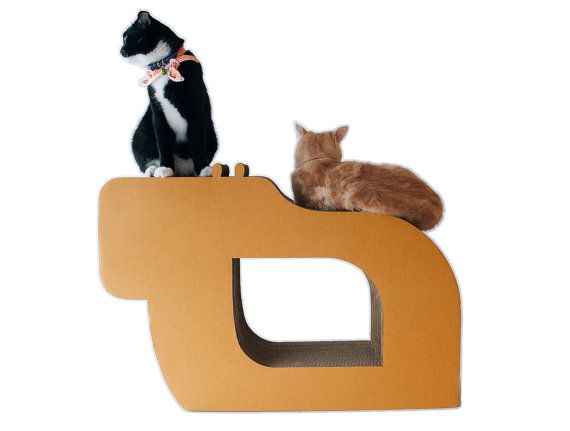 KAFBO Cat Scratching Furniture Hippo size L by KAFBO on Etsy