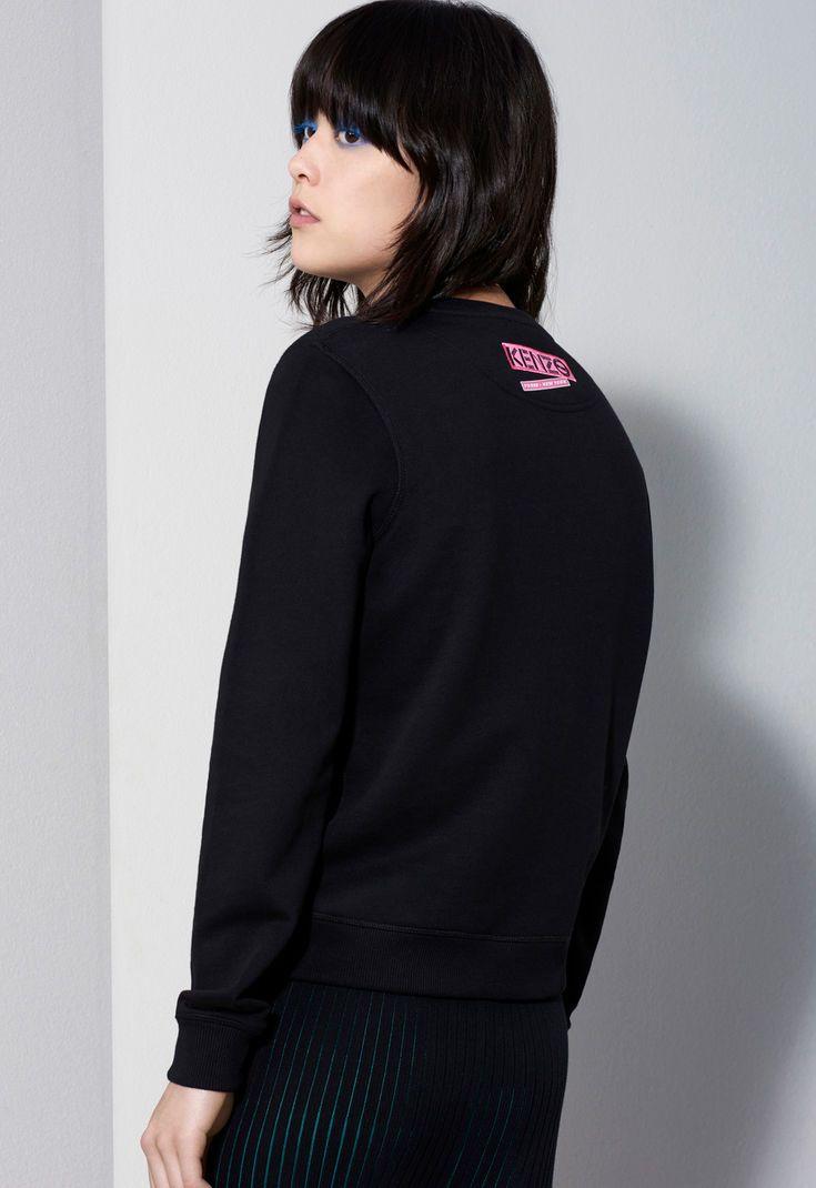 380ea3b323 Flyer x Tiger Sweatshirt, BLACK, KENZO | kenzo | Kenzo, Sweatshirts ...
