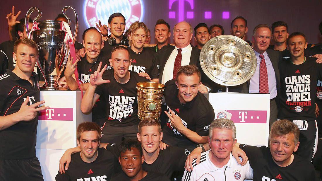Dfb Pokal Sieg Die Bayern Holen Das Historische Triple