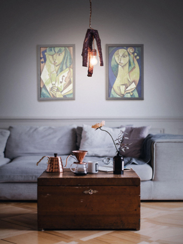 Wooden hanging lamp pendant lighting chain hanging lamp wooden lamp