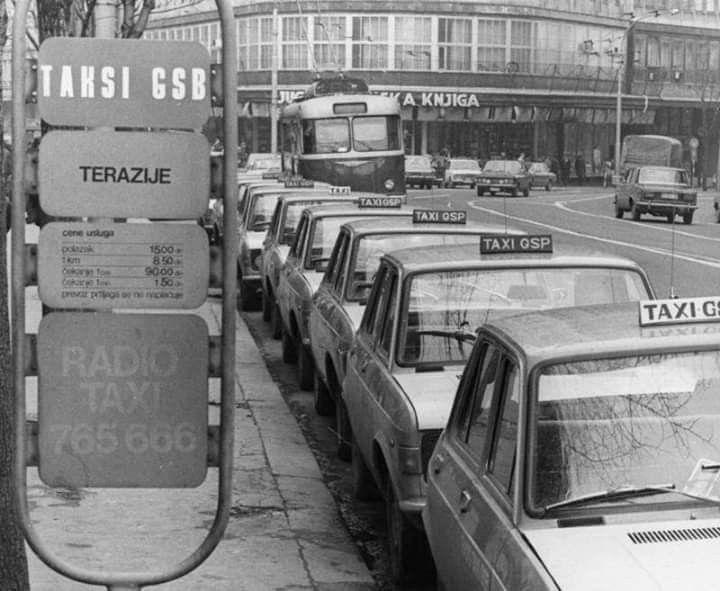 Taxi Stanica Belgrade Beograd Taxi