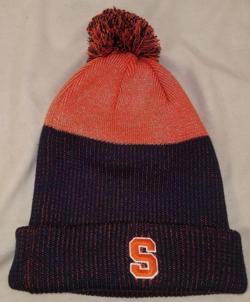 aa0db385 NEW NIKE SYRACUSE ORANGEMEN NEW DAY CUFFED KNIT HAT W/ POM BEANIE WINTER HAT  #Nike #SyracuseOrange
