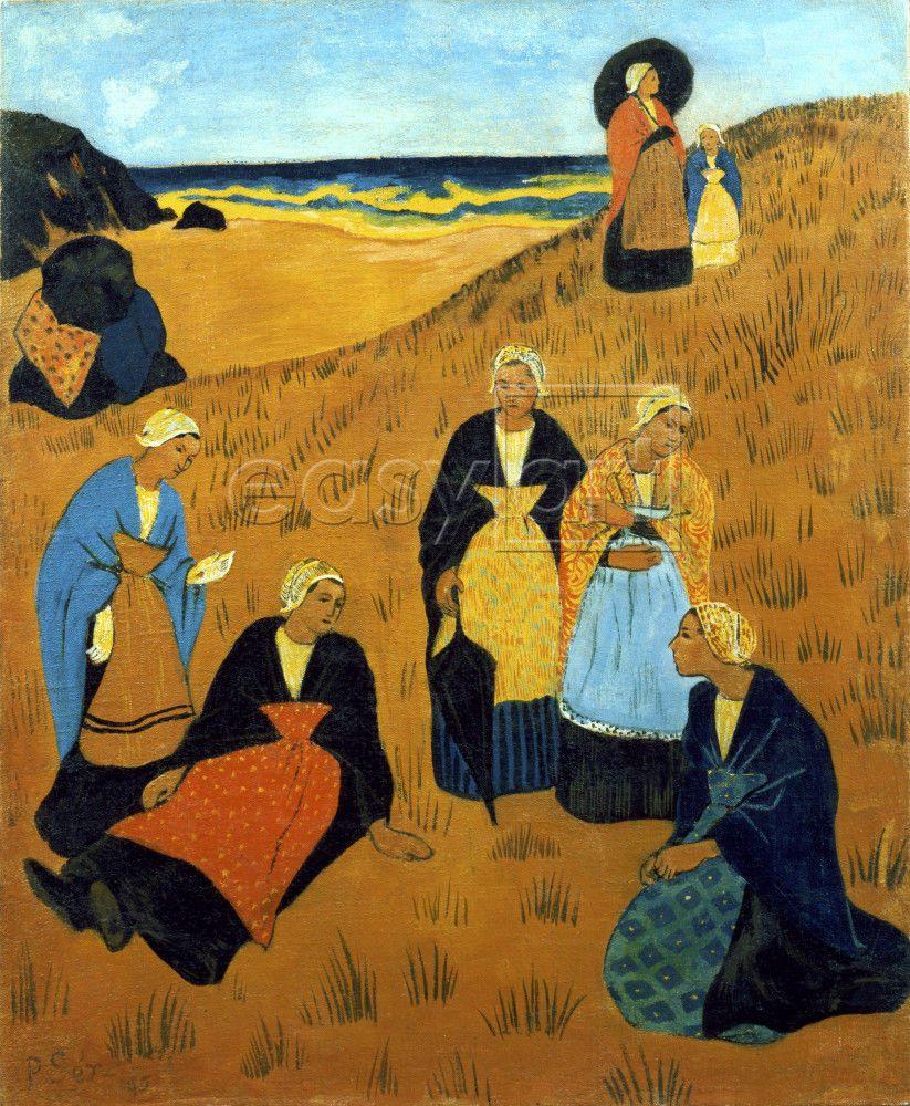 Paul Serusier (1864-1927) ~ Women wearing Shawls 1895