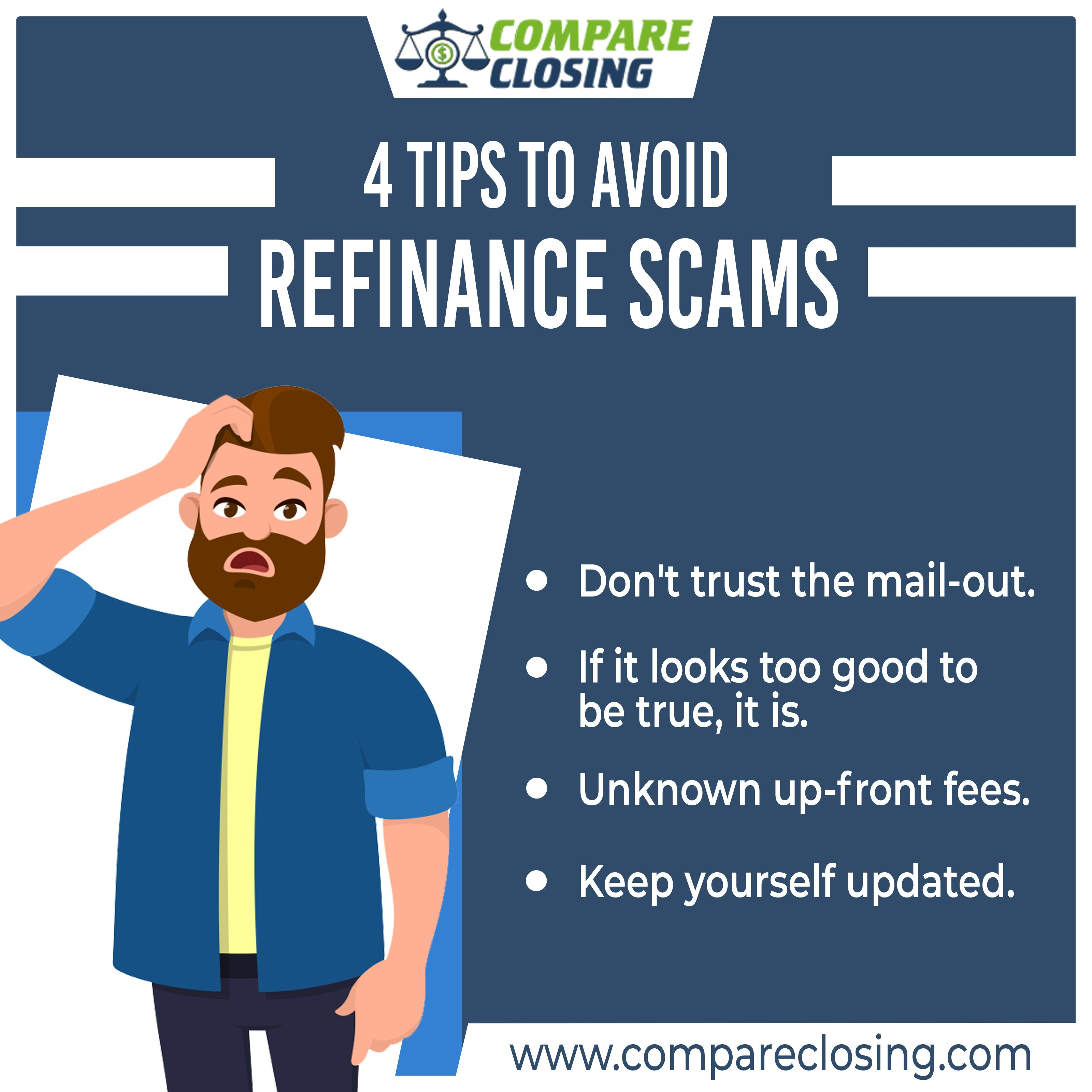 4 Tups to avoid Refinance scams! Refinance mortgage