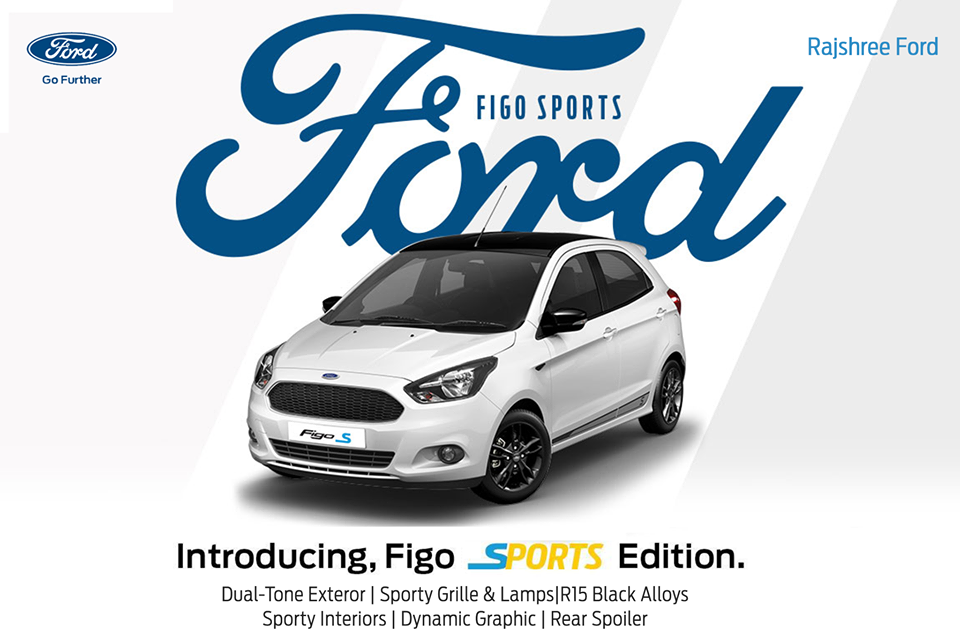 """Say """"hello"""" to the new Figo Sports Edition. This new"""