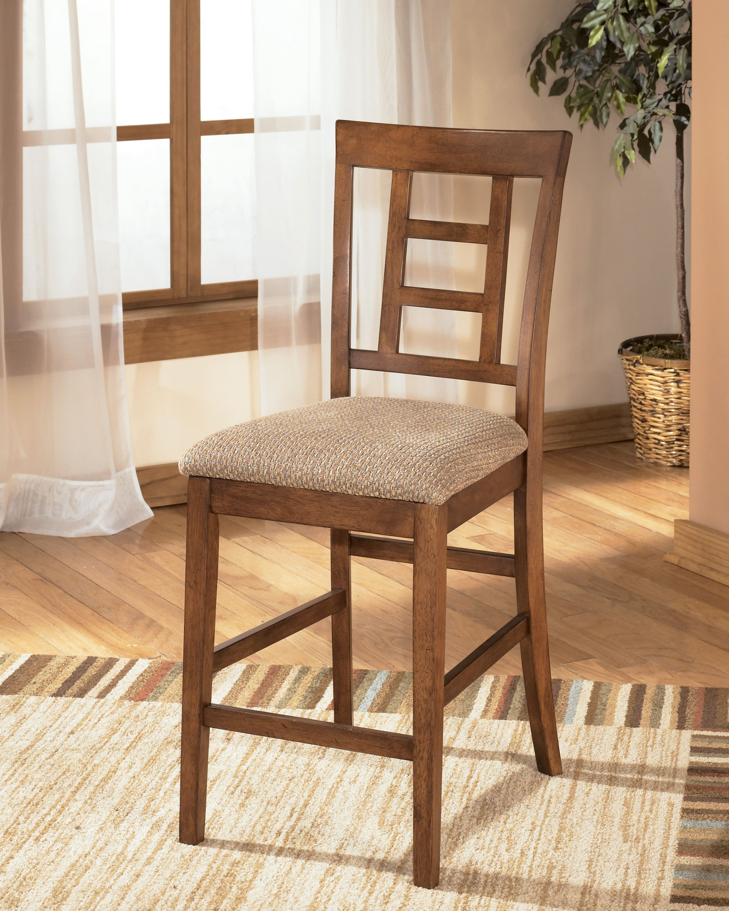 Cross Island Upholstered Barstool Shopac Dining Home Bar Furniture Mission Style Furniture Upholstered Bar Stools