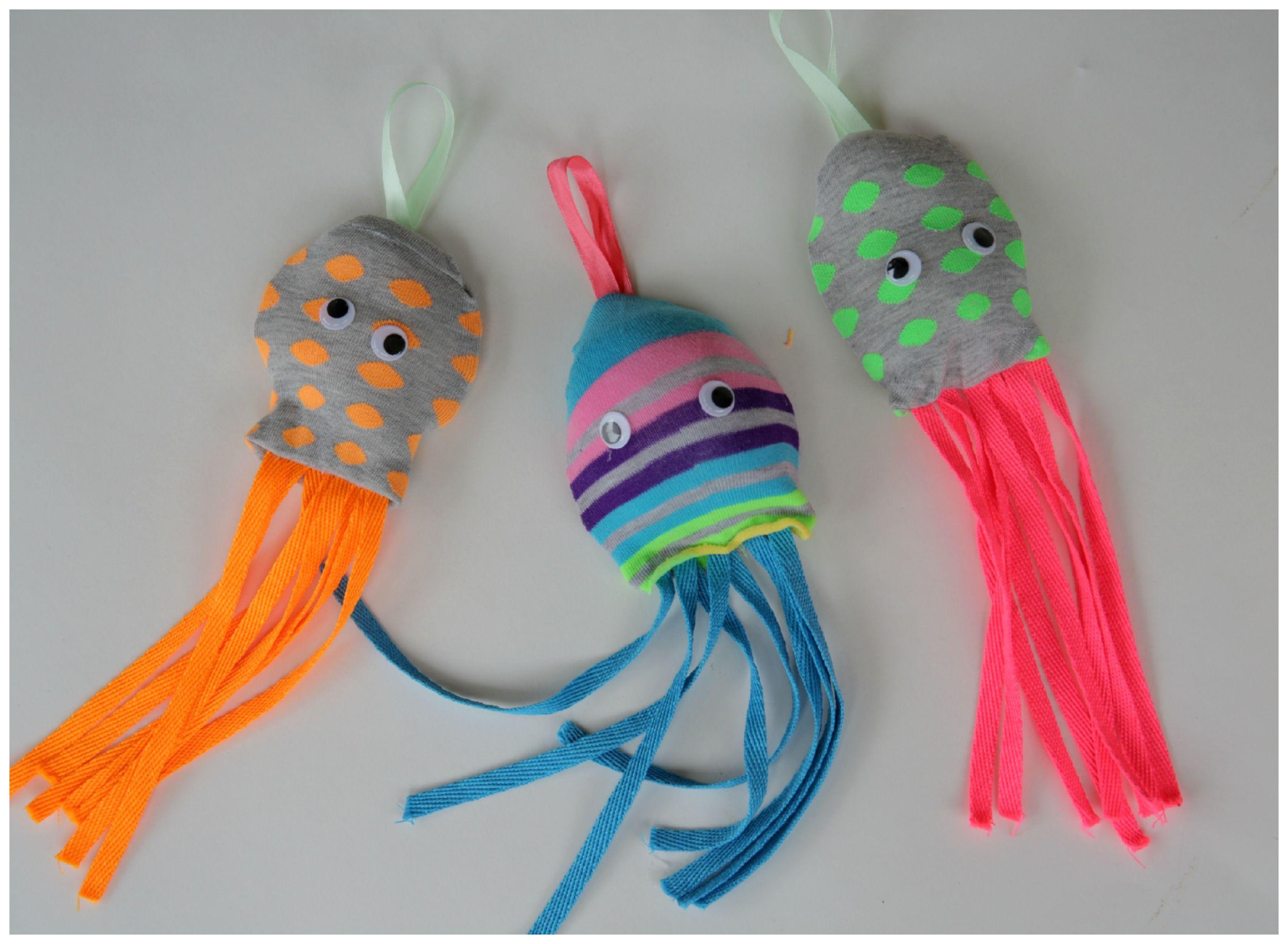 Cute kids craft to make with socks octopus socks