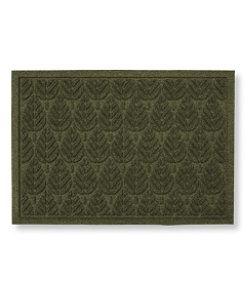 #LLBean: Indoor/Outdoor Waterhog Doormat, Geo Leaf