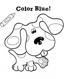Free Printable Coloring Pages For Kids Blues Clues Cool Coloring Pages Coloring Pages