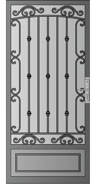 Phoenix Protecciones De Puertas Ventanas De Hierro Y Puertas De