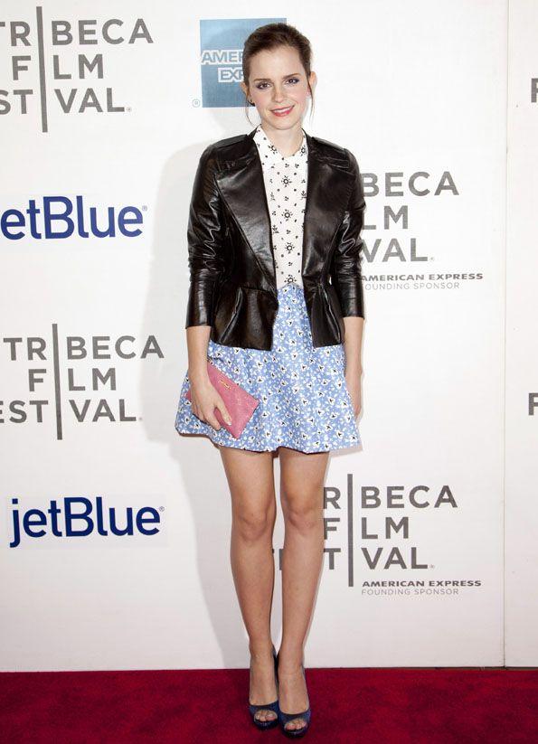 Emma Watson en el Festival de Cine de Tribeca http://www.vanidad.es/people/lookazo-emma-watson