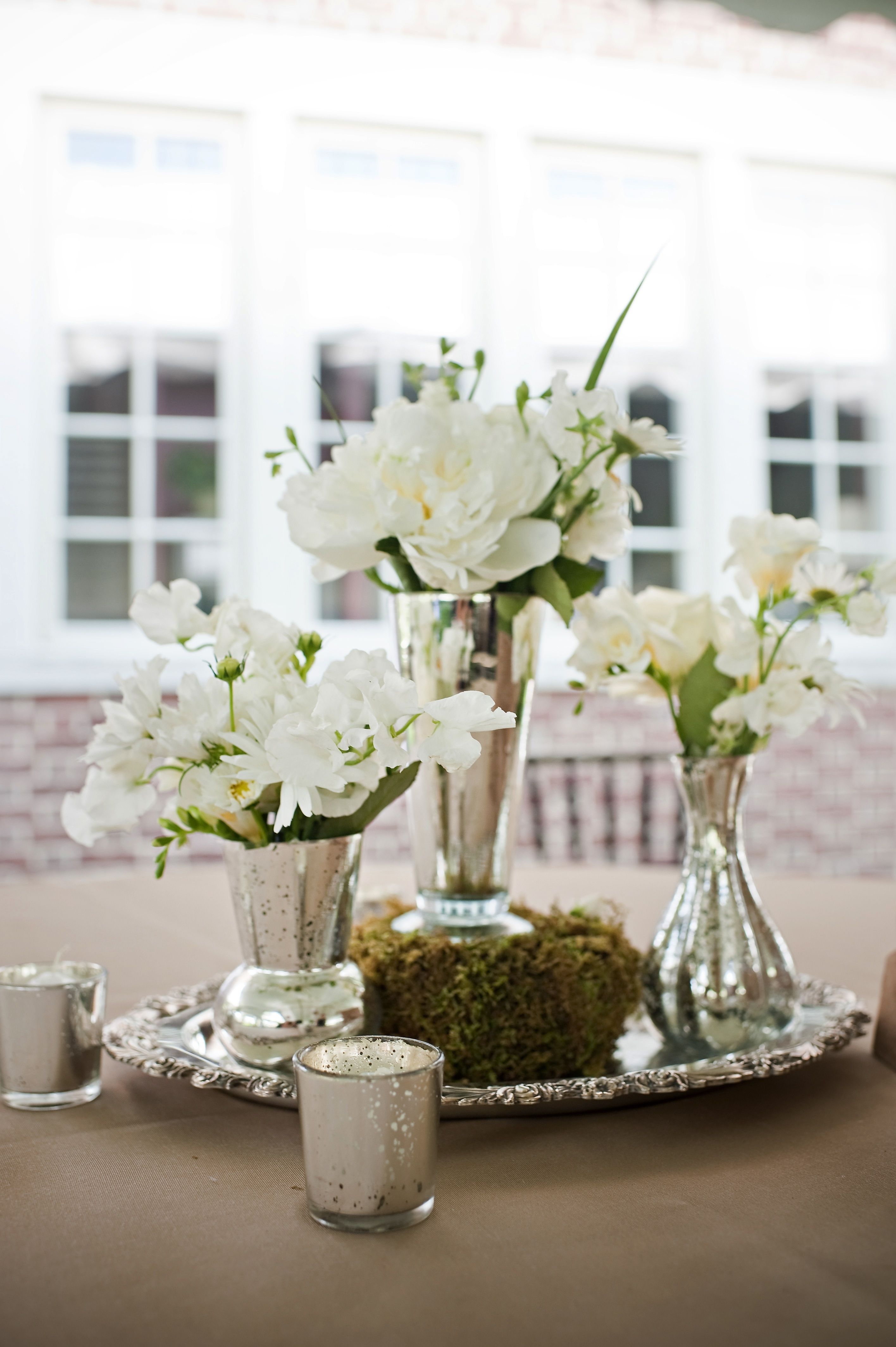Round Dining Table Centerpieces   Lagniappe Designs (Carole Sullivan,  Birmingham, AL) Photo