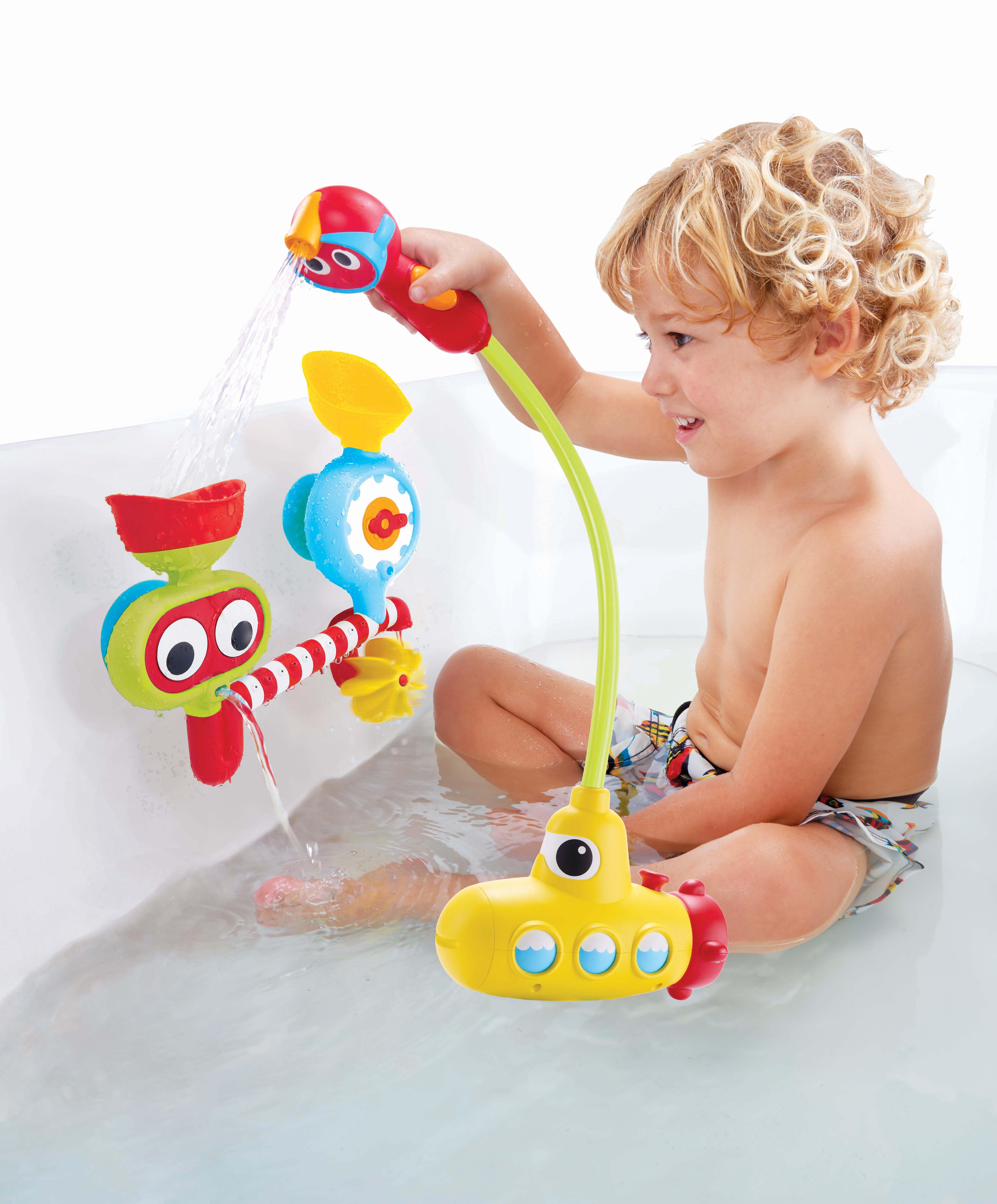 Juguetes Para El Baño Del Bebe | Juego De Bano Con Actividades Para Bebe Es Chulisimo Se Pega A