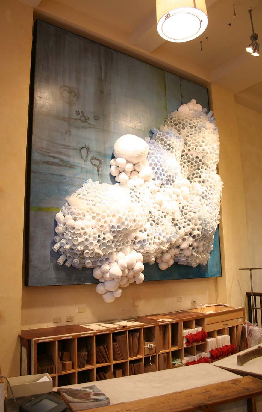 Anthropologie In-Store Displays Winter 2009 (kinda looks like fungus...I dunno)