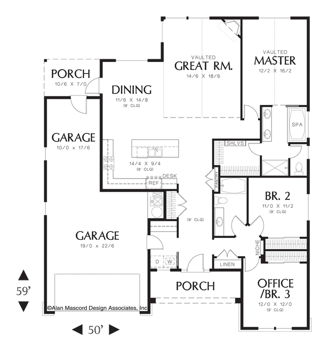 Pin By Courtney Jensen On House Plans House Plans One Story Craftsman Style House Plans Dream House Plans