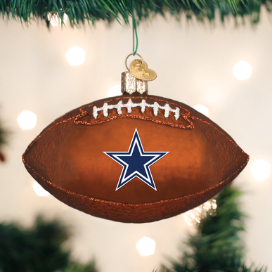 Dallas Cowboys Football Ornament | Ornaments, Painted ...