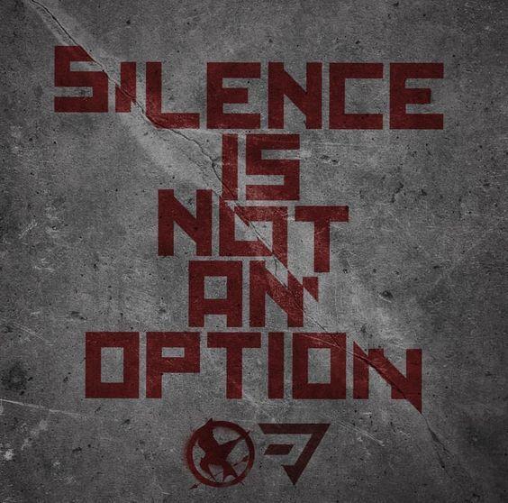 Se você não luta contra o opressor, então você é parte do problema.