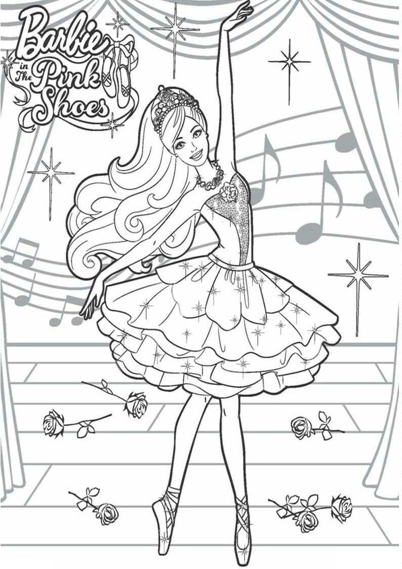 Pin By Joanna On Barbie Coloring Barbie Coloring Pages Barbie Coloring Coloring Pages